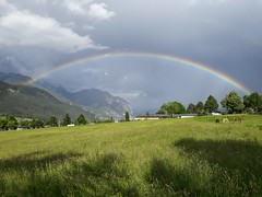 Bridge of Heaven (Ernst_P.) Tags: inzing regenbogen aut himmel österreich tirol arcoiris rainbow