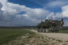 SbS18: CRF Departs RB (2d Cavalry Regiment) Tags: usarmyeurope nato efp saber strike 18 sbs18 saberstrike 2cr strong europe