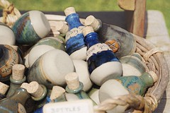 Spells (tanyalinskey) Tags: basket spells magic bottles