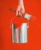 Stock Images (perfectionistreviews) Tags: indoors color vertical interiordesign change wall red can paint bodypart hand female woman caucasian paintcan paintbrush person holding homeimprovement painting renovate restoration supplies interiordecorating bucket lifestylesandart