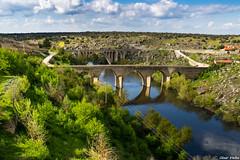 Puentes sobre el Tormes (cvielba) Tags: puebloconencanto puente salamanca ledesma rio tormes