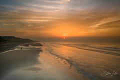 Saltburn Sunset (steveniceton.co.uk) Tags: saltburn timelapse sunset northyorkshire northyorkmoors