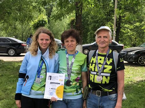 Переславль-Залесский. Фото после финиша.