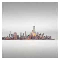 Shiny Big Apple (Vesa Pihanurmi) Tags: nyc newyorkcity manhattan downtown lowermanhattan cityscape skyline buildings architecture skyscrapers river hudson seascape landscape