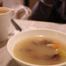 Tea with cream Hong Kong style, turnip pork bone soup