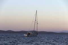 when the night comes down (cyberjani) Tags: adriatic sea island sailing malilošinj