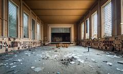 Theatre Jeusette - Abandoned in Belgium