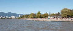 Kitsilano Beach - Vancouver, Canada (The Web Ninja) Tags: canon canon70d photo photography color colour colourimage image bc britishcolumbia canada canadian explore explorebc vancouver vancouverbc yvr kits kitsilano kitsilanobeach beach sand ocean water pacific pacificocean coast west westcoast day daytime