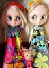 Mod Dresses (SJB Dolls) Tags: blythe doll mod kitty