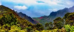 Kalalau Panorama (Rick Derevan) Tags: kauai kalalau kalalaulookout pacificocean pacific hawaii landscape