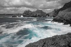 longexposure (khan.Nirrep.Photo) Tags: bretagne breizh bleu blue rocks rochers longexposure finistère canon canon6d canon1635mm seascape sea flickrunitedaward
