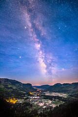 Milky Way over the West Fork Valley (Bryce Bradford) Tags: wolf creek pass colorado scenic overlook night stars galaxy milkyway darksky pagosasprings westfork nikon d800e sigma 14mm f18