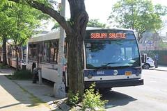 IMG_7646 (GojiMet86) Tags: mta nyc new york city bus buses 2016 lf40102 lfs 8454 subway shuttle 31st street ditmars blvd