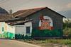 peinte verdure (8pl) Tags: mur peinture dessin feuillage tête toit citerne fresque mural fresquemurale couleurs taïwan chishang campagne maisonnette