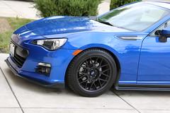 "Adrian's 2015 Subaru BRZ Limited with 17"" ARC-8 Wheels (ApexRaceParts) Tags: blue brz ft86 gt86 frs 17 arc8 subie subi"