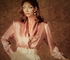 i52 (alannah.myles66) Tags: satin foulard soie blouse chemisier femme silk seide sexy