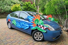 Art Float - Dragon Car - Maiden Voyage - Photo by Fabrice Florin - 2