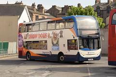 SCNL 10026 @ Lancaster bus station (ianjpoole) Tags: stagecoach cumbria north lancs alexander dennis enviro 400 px12dnf 10026 working route 40 preston fishergate bus station lancaster