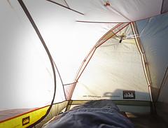 Tent Sunrise (ScooteRoo) Tags: flickrsbest camping tent colorado lyons rei sunrise morning adventure mountains sun naturallight bag sleepingbag dawn beautifulcapture flickrcentral