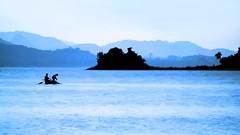 Images from Rural Bengal (pallab seth) Tags: fishermen lake boat landscape painting dailylife massanjoredam waterbody canadadam reservoir tour tourism travel weekenddestination nature bengal india asia samsungnxseries silhouette jharkhandstate outdoor