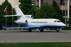 C-FDOW (Flightexec) (Steelhead 2010) Tags: flightexec dassault falcon f900 bizjet yhm creg cfdow