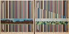 Concord, Walden I and Walden II (1971) - Tom Philips (1937) (pedrosimoes7) Tags: tomphilips caloustegulbenkianmuseum moderncollection lisbon portugal ✩ecoledesbeauxarts✩