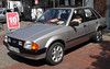 Escort (Schwanzus_Longus) Tags: nordenham german germany old classic vintage car vehicle sedan saloon ford escort laser