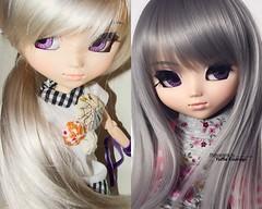 2008 vs 2018: Ianthe My Suigintou 2007. One of the most beautiful simple pullips!! (·Yuffie Kisaragi·) Tags: doll pullip suigintou ianthe obitsu rewigged
