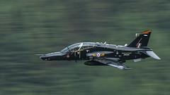 Hawk (Thomas Winstone) Tags: canonuk canon 300mm28mk2 canon1dxmark2 thomaswinstonephotography plane jet raf military lowfly lfa7 unitedkingdom machloop