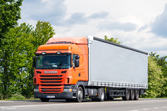 Scania R400 II Highline (UA) (almostkenny) Tags: lkw truck camion ciężarówka ua ukraine scania r400 highline lowdeck bc bc1257hc ex vos