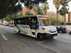 Primer día Sagalés 1038 (víctormolina27) Tags: sagales santamaria mollet martorelles cralahispania 356 355 daily mobi indcar bus iveco