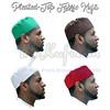Pleated-Top fabric Kufis_2 (TheKufi.com) Tags: kufi kufis kopyah kufiya peci muslim hats prayer caps