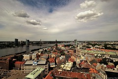 I Love Riga ! (Ivan Zanotti Photo) Tags: riga landscape latvija latvia sky cityscapes europe wiev oldtown ригалатвия панорамное panoramica city travel