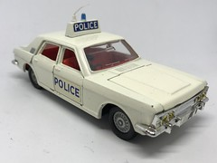 Dinky Toys England - Number 256 - Ford Zephyr Police Car - Miniature Diecast Metal Scale Model Emergency Services Vehicle (firehouse.ie) Tags: vehicules vehicles vehicule vehicle lawenforcement automobile automobiles autos l'auto coches coche policija policja polizeiauto polizeiwagen polizia politie politi polis policia polizei pd vintage miniatures miniature models model metal zephyr ford patrol police cars car toys toy dinkytoys dinky