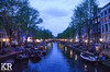 Canal at Night (keegrich89) Tags: nighttime amsterdam europe netherlands