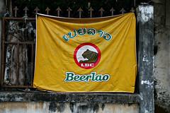 Beerlao (bindubaba) Tags: laos beer flags savannakhet