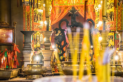 Man Mo Bokeh - Hongkong 150/188 (*Capture the Moment*) Tags: 2017 architecture architektur fotowalk hollywoodroad hongkong manmotemple sonya7m2 sonya7mii sonya7mark2 sonya7ii sonyfe2470mmf4zaoss sonyilce7m2 tempel temple