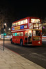 Modern life is rubbish (gooey_lewy) Tags: rt leyland bus rtl double decker london timeline events tle christmas lights 453 ensign ensignbus night evening twilight dark after hours klb 648 people red classic iconic pd2 city advertising 9 route road building