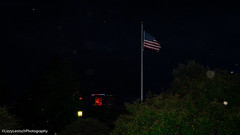Boom Island Park (Lzzy Anderson) Tags: minneapolis minnesota unitedstates us city building storm clouds rain tree woods forest may spring 2018 dark americanflag flag night boomislandpark park