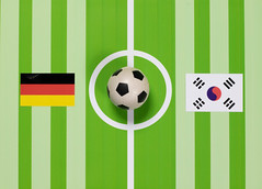 Deutschland gegen Südkorea bei der Fußball-Weltmeisterschaft 2018 (marcoverch) Tags: 2018 flag russia weltmeisterschaft fusballwm southkorea ball fifa germany football russland soccer worldcup illustration stripe streifen fusball fun spas vector vektor cute niedlich design card karte desktop baby graphicdesign grafikdesign graphic grafik noperson keineperson love liebe goal tor celebration feier grass gras banner vacation hiking memorialday exposure bay mono star island national japan deutschlandgegensüdkorea fusballweltmeisterschaft2018