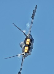 Gunfighter skies 2018 (Who Jets) Tags: f22 raptor vapor afterburner airshow gunfighterskies canon70d sigma 150500mm closeup fighterjet military airforce