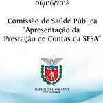 Apresentação da Prestação de Contas da SESA