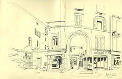 Place de Verdun - Aix-en-Provence (lolo wagner) Tags: rencontre usk france aixenprovence croquis sketch sketchcrawl