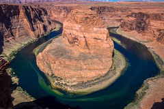 Horseshoe bend in Northern Arizona.
