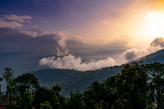 Sunrise over the Himalayas, Pelling, Sikkim (CamelKW) Tags: sikkimindia2018 sunrise himalayas pelling sikkim pellingcity india in