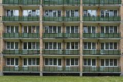 Karacharovo (Khuroshvili Ilya) Tags: block architecture windows balcony soviet ussr symmetry grass