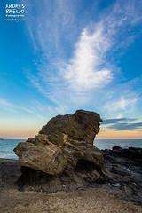 La playa de Ballonga (Andres Breijo http://andresbreijo.com) Tags: mar sea playa beach roca rock costa coast nerja torrox axarquia paisaje malaga andalucia españa spain