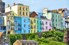 Seaside colours (CJS*64) Tags: wales southwales tenby colours colour seaside houses architecture dslr d7000 nikon nikkorlens 24mm85mmlens nikond7000 craigsunter cjs64 pastel pastelcolours
