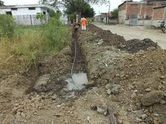 Colocación de agua Cdla. Bowen (gadchone20092014) Tags: colocación agua cdla bowen