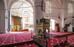 Lala Mustafa Pasha Mosque (werner boehm *) Tags: wernerboehm nikolauscathedrale lalamustafapashamosque famgusta cyprus interior architecture